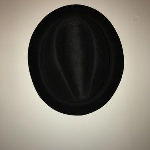 Vintage Accessories - Vintage Black Fedora Hat